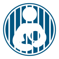 Incarceration Dark Blue Icon
