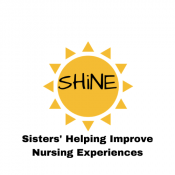 Sisters helping improve nursing experiences logo